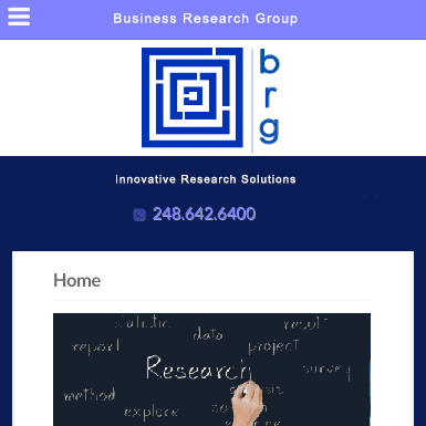 Business Research Group website