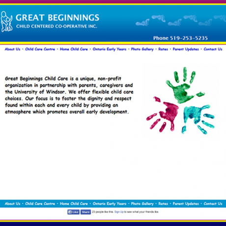 Great Beginnings Child Centered Co-operative
