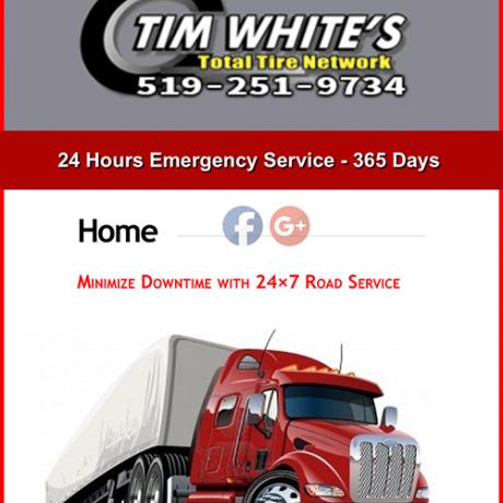 Tim White's Total Tire Network screen shot