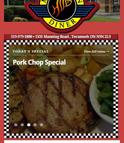 Michigan Diner Restuarant in Tecumseh