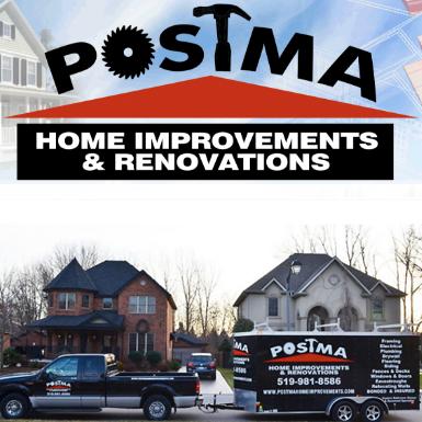 Postma Home Improvements Responsive website